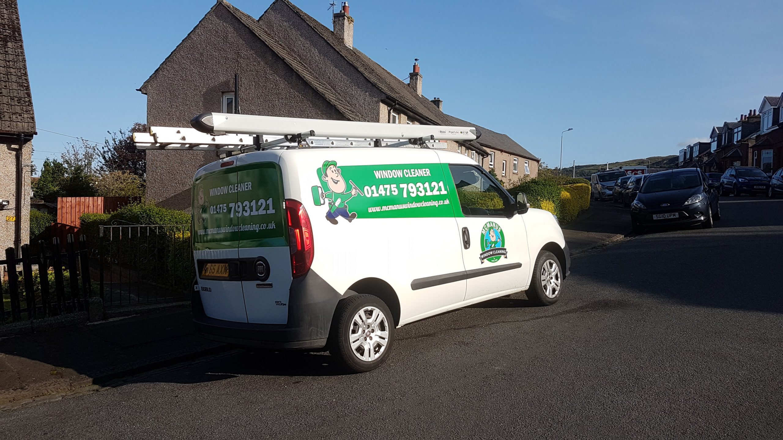 This is an image of one of our vans